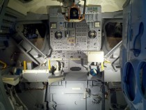 Lunar Module Interior Kennedy Space Center Florida