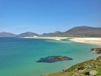Luskentyre Beach Isle of Harris Outer Hebrides Scotland