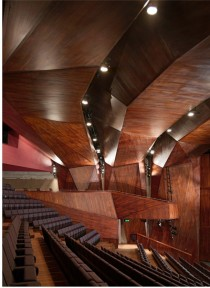 Lyric Theatre interior Belfast ODonnel  Tuomey Architects