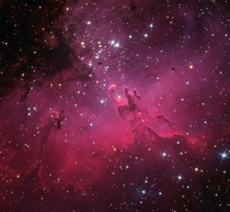 M and the Eagle Nebula by Martin Pugh