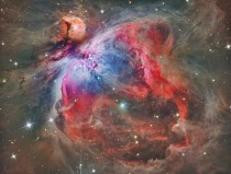 M Inside the Orion Nebula