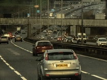 M motorway Yorkshire UK