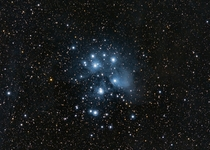 M - Pleiades Open Cluster Seven Sisters