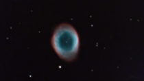 M Ring Nebula with mm focal length experiment