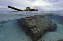MA Sherman Tank Saipan Northern Mariana Islands