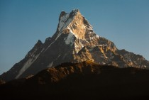 Machapuchare Fishtail Mountain by Steffen Walther