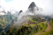 Machu Picchu in the clouds - th July