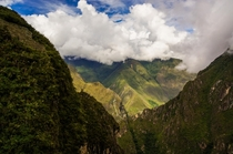 Machu Picchu Peru - From the less famous side