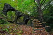 Madame Sherris Castle ruins in New Hampshire