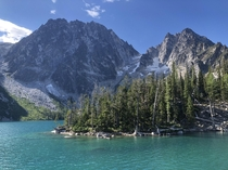 Made a lovely anniversary trip to Colchuck Lake WA