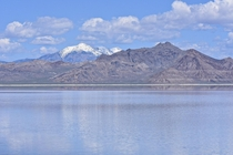 Made a quick stop off of I- to take a few pics Bonneville Salt Flats Utah