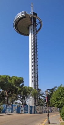 Madrid Spain - Faro de Moncloa tower
