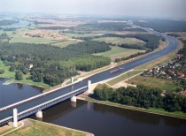 Magdeburg Canal Bridge Germany