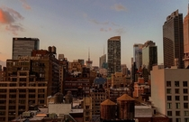 Magic Hour In Midtown New York NY