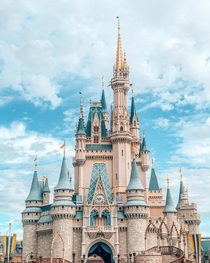 Magic Kingdom Castle in Orlando Florida