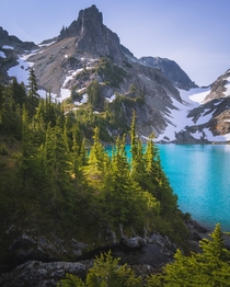 Magic Lake Cascades Washington State