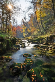 Magic of autumn awaits Croatian Kamacnik canyon