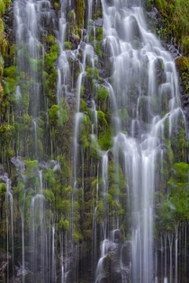 Magical waterfall hidden in Northern CA - Mossbrae Falls
