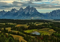 Magnificent View of Jackson Hole Valley in Grand Teton National Park Photo by Jeff Clow