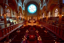 Main Sanctuary of Eldridge Street Synagogue by Eldridge Street Project Lower East Side New York City