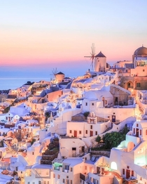 Majestic Greece during sunset