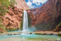 Majestic Mooney Falls Havasupai AZ