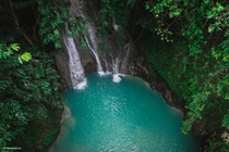 Majestic tropical waterfalls in Bohol Philippines  bradscanvas