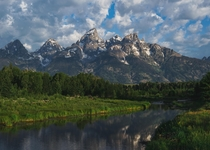 Majesty of the Grand Tetons WY