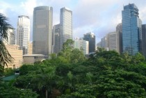Makati Philippines from Peninsula Hotel x