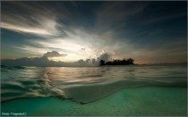 Maldives swim  photo by Dmitry Vinogradov