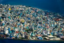 Male the capital of the Maldives Sadly most of the nation will be underwater by