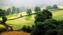 Malham Landscape in North Yorkshire England