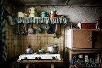 Mamas Kitchen - A quaint cooker in an abandoned house by Projct Myhm