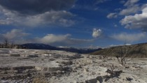 Mammoth Hot Springs Yellowstone National Park Wyoming OC  x