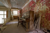 man i dig those rhythm and blues  long-forgotten piano in the ballroom of an abandoned hotel in continental europe
