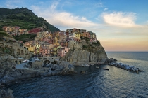 Manarola Cinque Terre Italy It is the second smallest of the famous Cinque Terre towns frequented by tourists