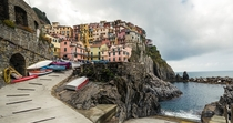 Manarola Italy - along the Cinque Terre coastline
