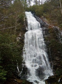 Mango Falls in the NC mountains