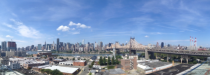 Manhattan from a Long Island City rooftop