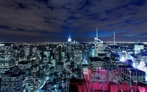 Manhattan from Rockefeller Center-