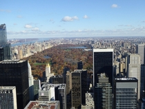 Manhattan New York Overlooking Central Park