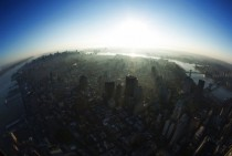 Manhattan NYC from the top of WTC