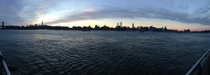 Manhattan Panorama taken from Williamsburg