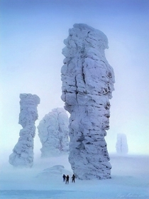 Manpupuner Rocks North Ural Mountains Russia