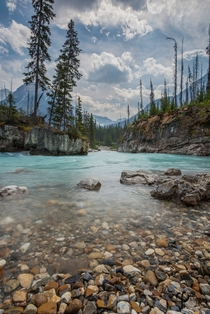 Marble Creek Canyon - Kootenay National Park OC x