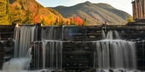 Marcy Dam bridge rotted away in the s but a popular hangout for hikers in the Adirondacks