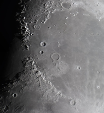 Mare Imbrium -  seperate images combined into