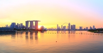 Marina Bay Golden Sunset - Singapore  photo by JIMI_lin