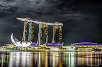 Marina Bay Sands HDR