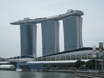 Marina Bay Sands Hotel Singapore Designed by Moshe Safdie  x